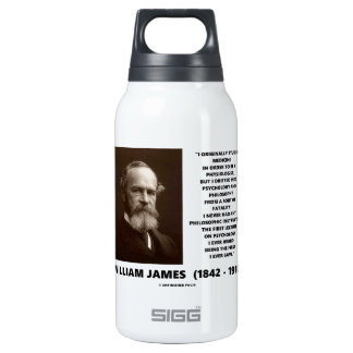Medicine Psychology Philosophy William James Quote 10 Oz Insulated SIGG Thermos Water Bottle