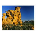 Medicine Rocks State Park near Ekalaka Montana Post Card