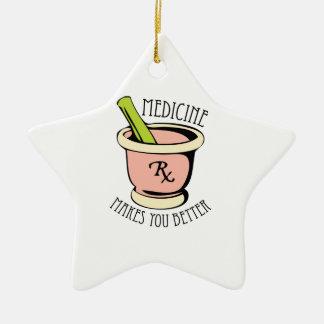 Medicine Rx Ceramic Ornament