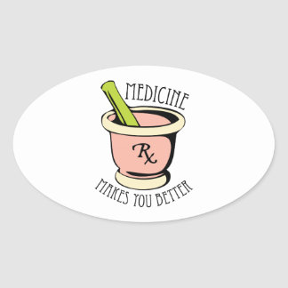 Medicine Rx Sticker