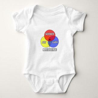 Medicine .. Science Art Luck Baby Bodysuit