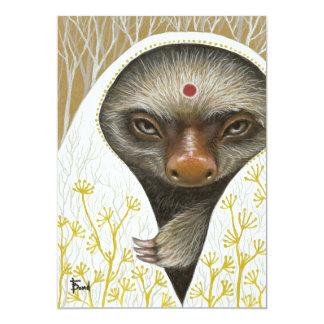 Medicine Sloth Card