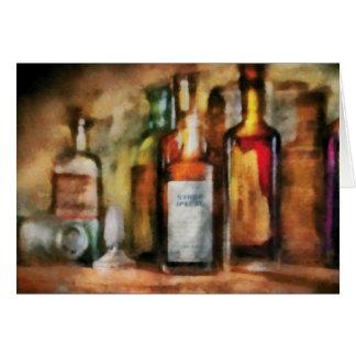 Medicine - Syrup of Ipecac Card