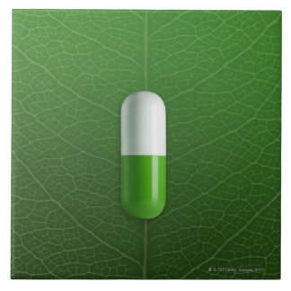Medicine Large Square Tile