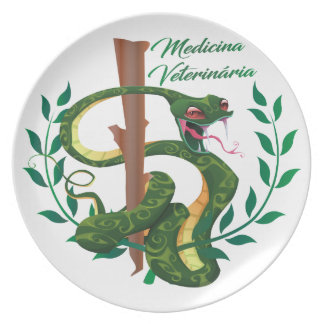 MEDICINE VETERINARY MEDICINE DINNER PLATE