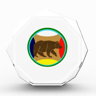 Medicine Wheel Bear Acrylic Award