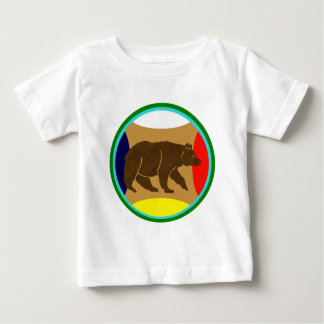 Medicine Wheel Bear Baby T-Shirt