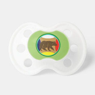 Medicine Wheel Bear Pacifier