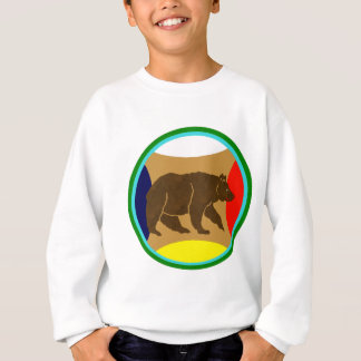 Medicine Wheel Bear Sweatshirt