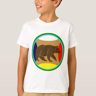 Medicine Wheel Bear T-Shirt