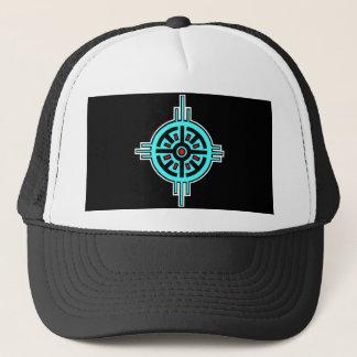 Medicine Wheel-Black Trucker Hat