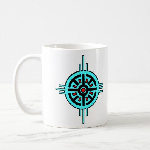 Medicine Wheel Classic White Coffee Mug
