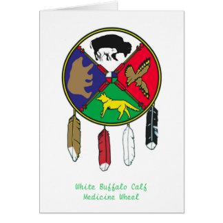 Medicine Wheel Holiday 2 Card