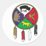 Medicine Wheel Sticker