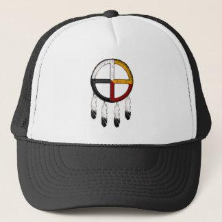 Medicine Wheel Trucker Hat