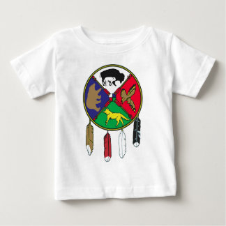 Medicine Wheel - White Buffalo Woman Legend Series Baby T-Shirt