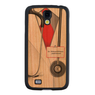 Medicines Doctor Carved® Cherry Galaxy S4 Slim Case