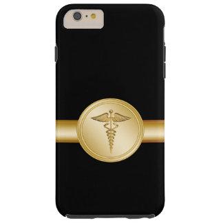 Médico caduceo funda de iPhone 6 plus tough