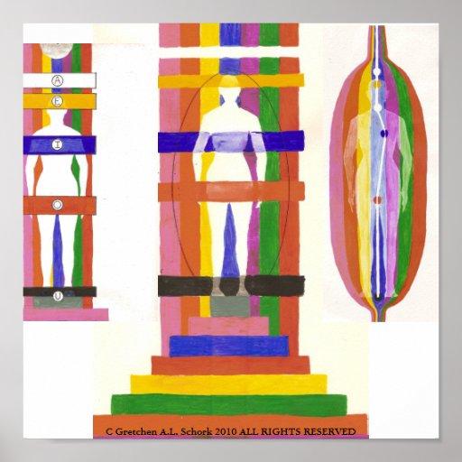 Médico del poster del sistema de Abcedrian
