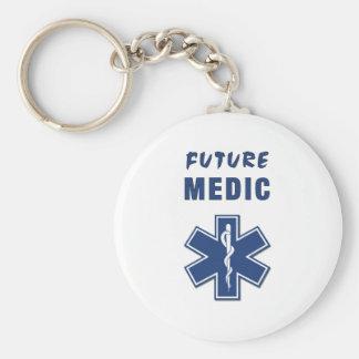 Médico futuro llavero personalizado