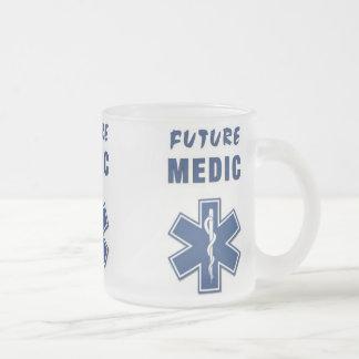 Médico futuro tazas de café