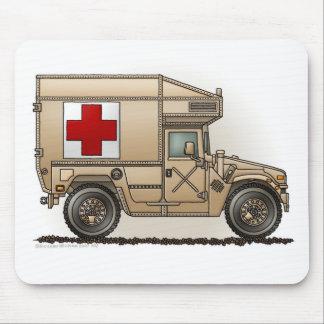 Médico militar de Hummer de la ambulancia Alfombrilla De Raton