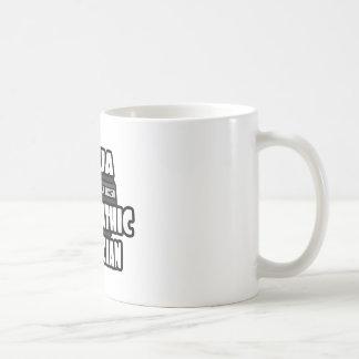 Médico osteopático de Ninja Tazas De Café