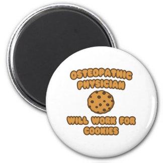 Médico osteopático. Trabajará para las galletas Imán Redondo 5 Cm
