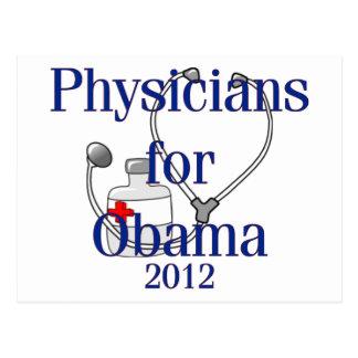 Médicos para las camisetas y los regalos de Obama Postal