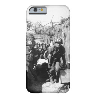 Medics remove a casualty from the_War Image Barely There iPhone 6 Case