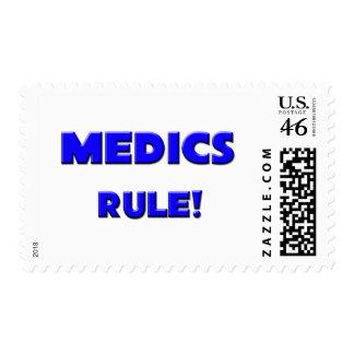 Medics Rule! Postage Stamp