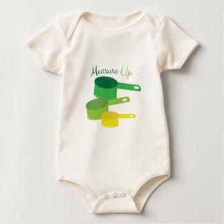 Medida para arriba mameluco de bebé