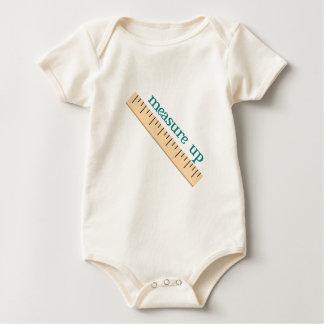 Medida para arriba mamelucos de bebé