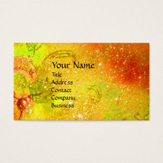 MEDIEVAL ALLEY BY NIGHT IN FLORENCE BUSINESS CARD