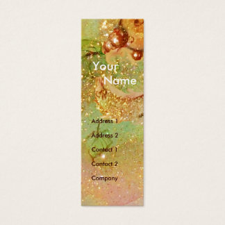 MEDIEVAL ALLEY BY NIGHT IN FLORENCE MINI BUSINESS CARD