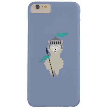 Medieval Alpaca Knight Barely There iPhone 6 Plus Case