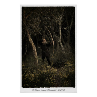 Medieval Archery 002 Poster