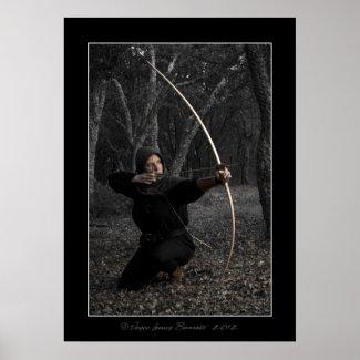 Medieval Archery 004 Print