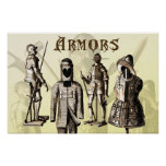 Medieval Armors Posters