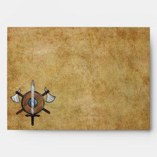 Medieval Arms Envelopes