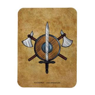 Medieval Arms Magnet