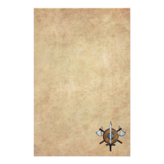 Medieval Arms Personalized Stationery