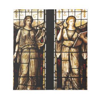 Medieval art notepad