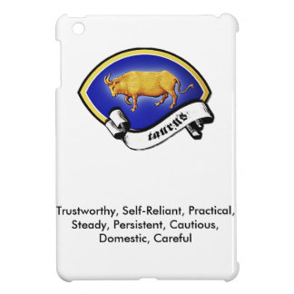 Medieval Astrological Zodiac Sign Bull (Taurus) iPad Mini Cover