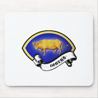 Medieval Astrological Zodiac Sign Bull (Taurus) Mouse Pads