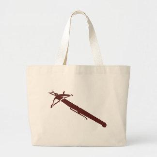 medieval-ballesta bolsa lienzo