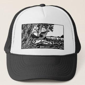 medieval-bard-2 trucker hat