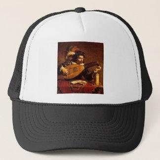 medieval-bard-4 trucker hat
