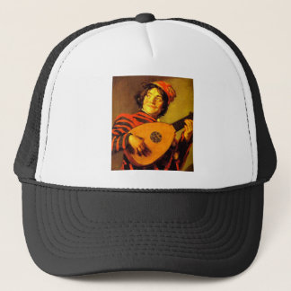 medieval-bard-6 trucker hat