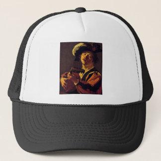 medieval-bard-7 trucker hat